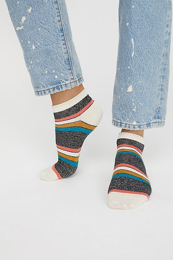 Free People フリーピープル Star Power Lurex Anklet ソックス
