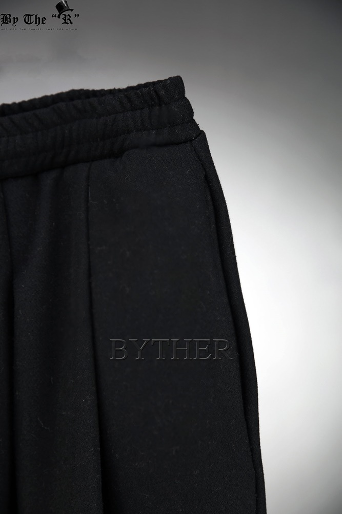 ★韓国の人気★BTHR★Woolen Wide Baggy Pants 2色★