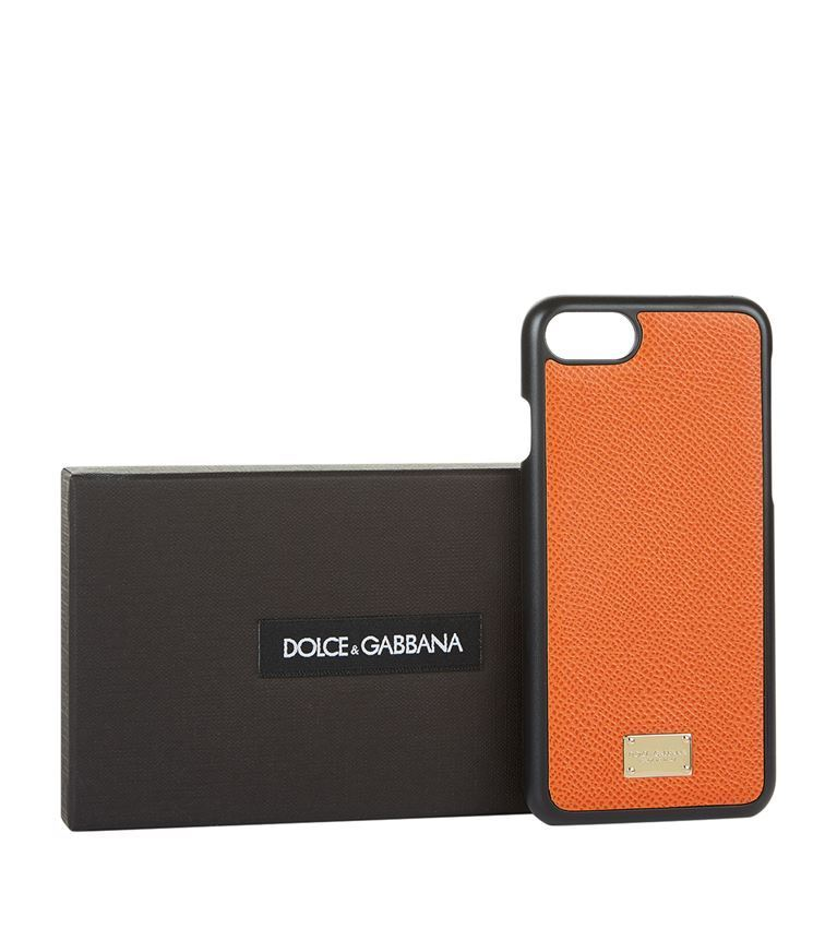 日本未入荷☆Dolce&Gabbana☆Leather iPhone7Plus case 送関込