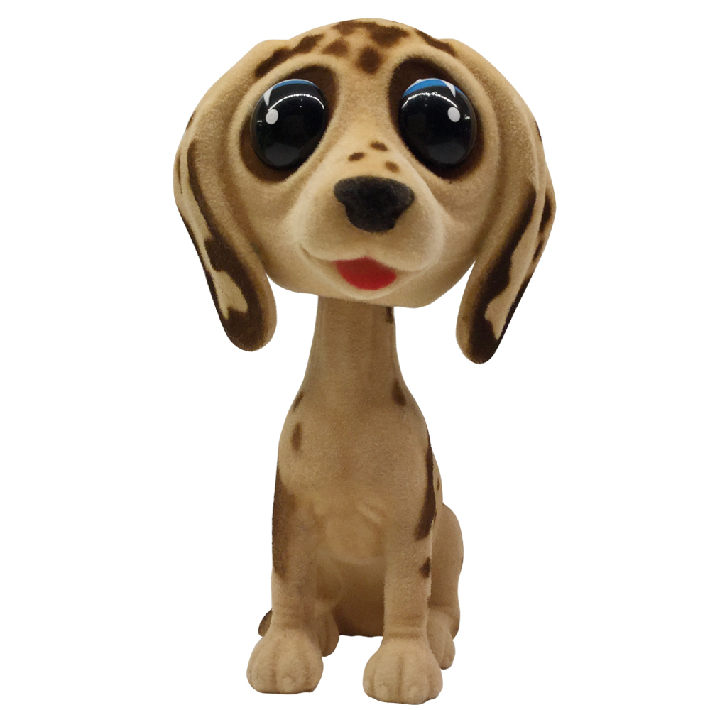 (インテリア小物)Nodding Figurine Big Eyes Dog A/YE