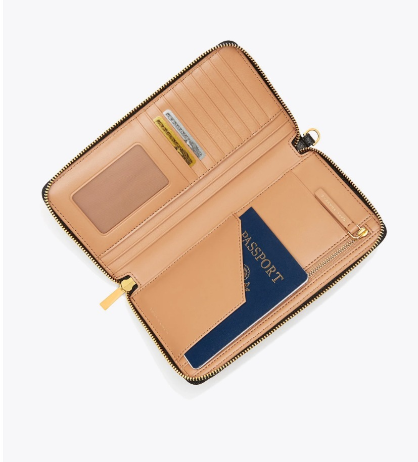 TORY BURCH  PARKER TRAVEL CONTINENTAL WALLET