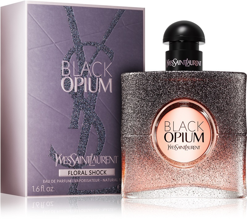 【準速達・追跡】Black Opium Floral Shock EDP for Women 50ml
