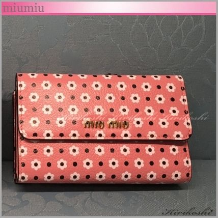 ◆miumiu◆VIP Sale!40%off◆Madras print◆WALLET◆デイジーPK