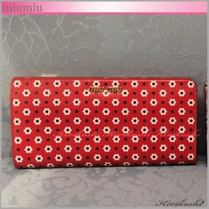◆miumiu◆VIP Sale!40%off◆Madras print◆WALLET◆デイジーRD
