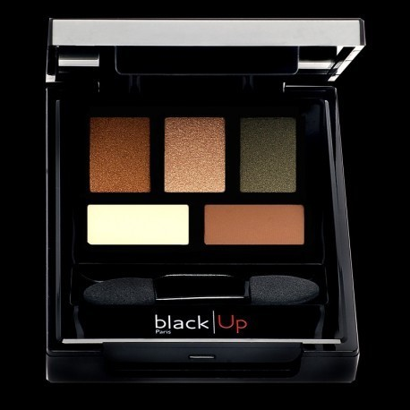 Black Up限定パレット☆5 COLOR EYESHADOWS