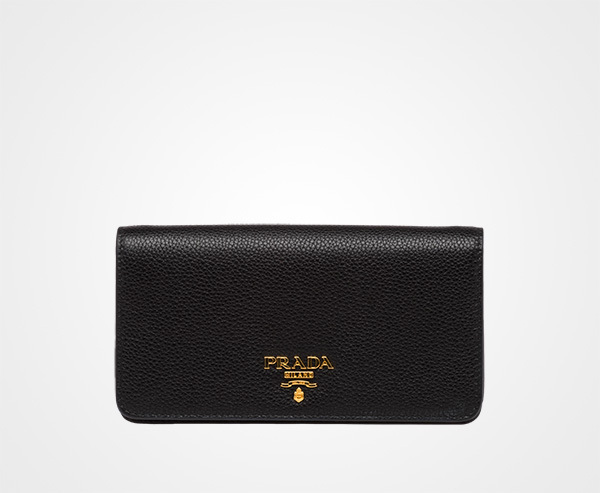 国内発関税込 2018AW PRADA Leather Phone Cover
