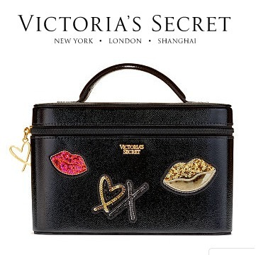 Victoria's Secret★ポーチ バニティ★Runway Patch Vanity Case