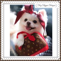 【即納】Chewy Vuiton Posh Purse Red Trimチュイヴィトンレッド
