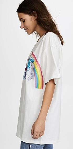 Moschino My Little Pony Rainbow Tee   送料関税込