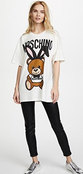 Moschino Playboy Bear Tee  Tシャツ   送料関税込