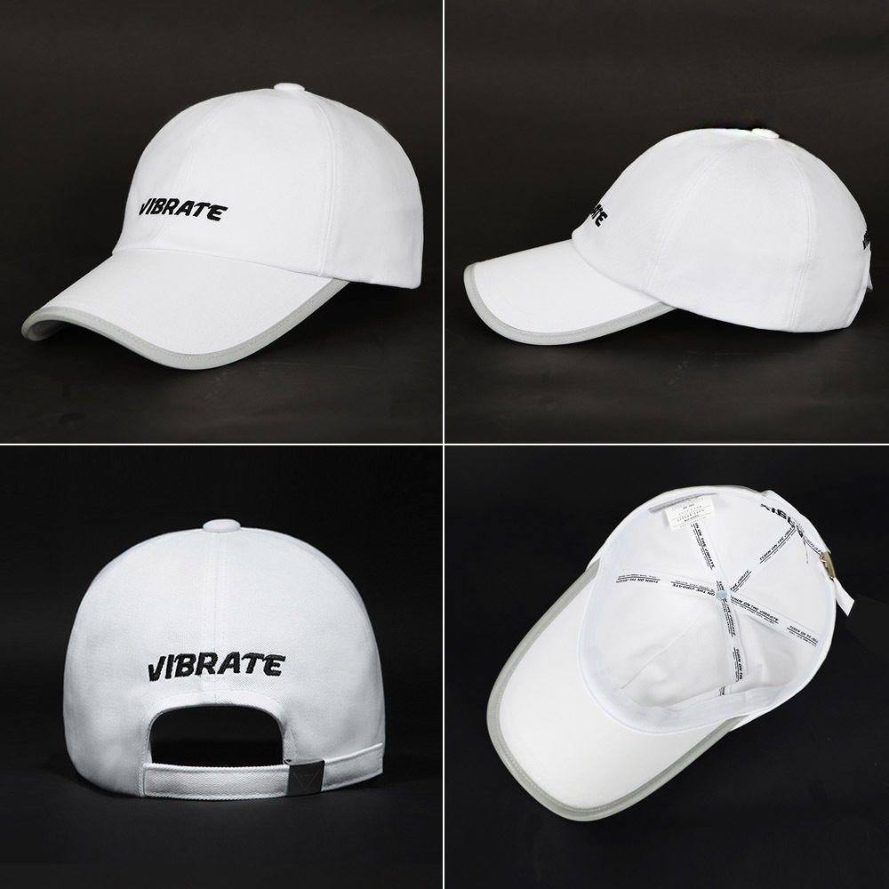 【VIBRATE】SCOTCH PATCH BASIC LOGO ボールキャップ(2 color)