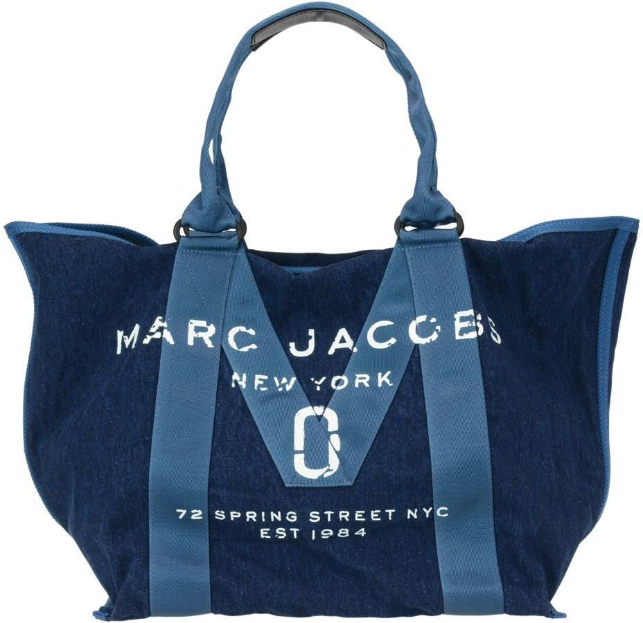 MARC JACOBS ■AW17/18傑作 NEW ロゴ デニム バッグ