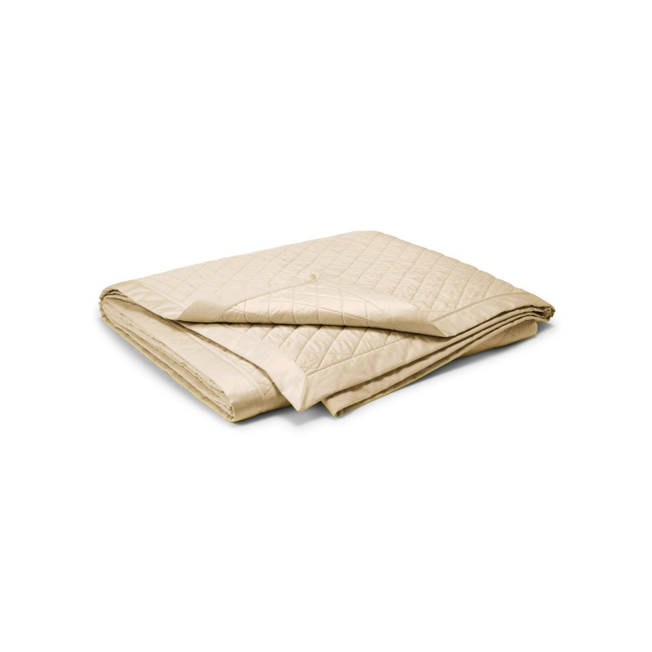 ○送料込○ Cream Bedford Quilted Coverlet