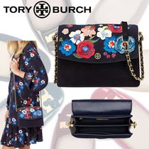 SALE★Tory Burch PARKER CONVERTIBLE 花柄ショルダーバッグ