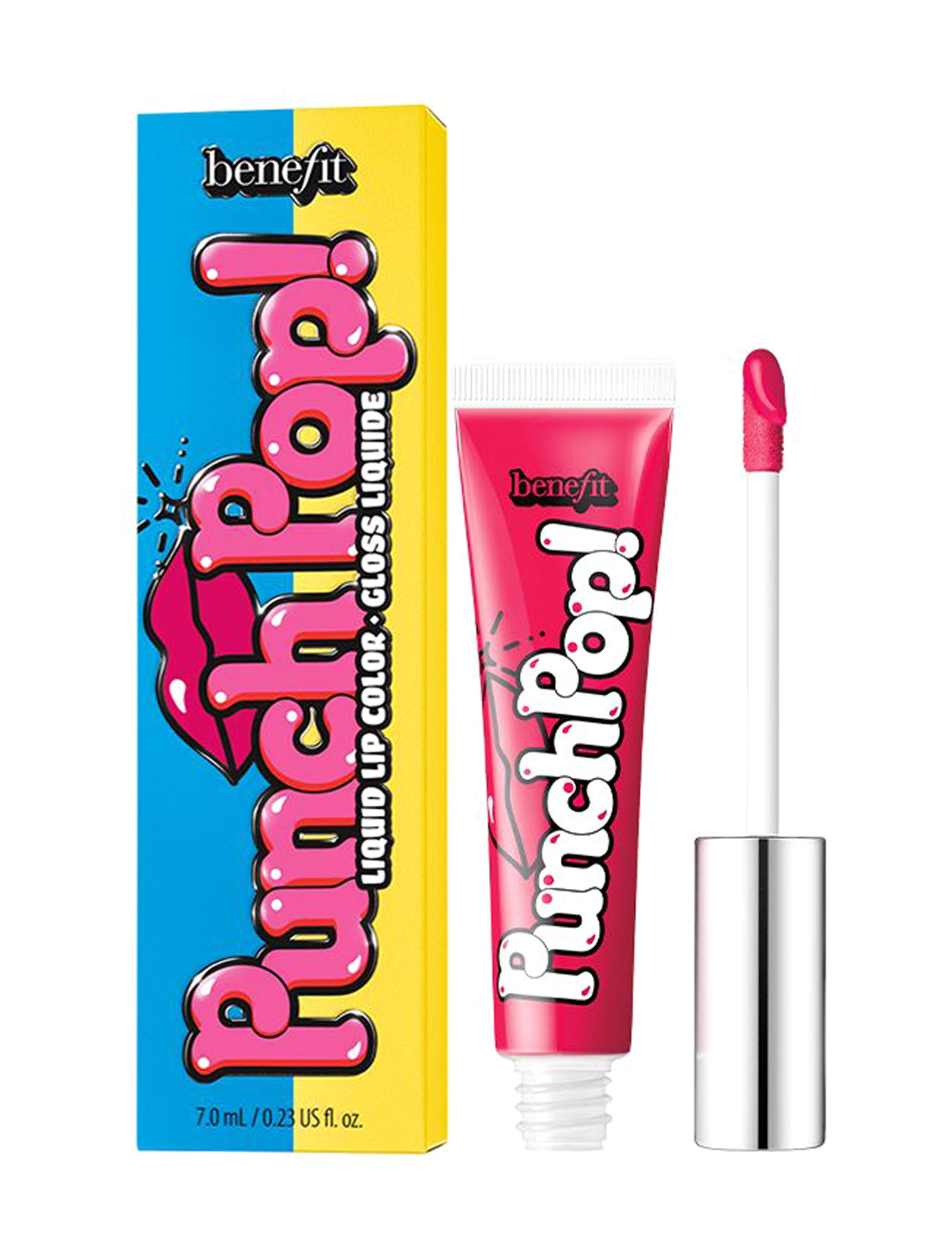 BENEFIT Punch Pop Liquid Lip Color #Cherry (Pinky red) 送込