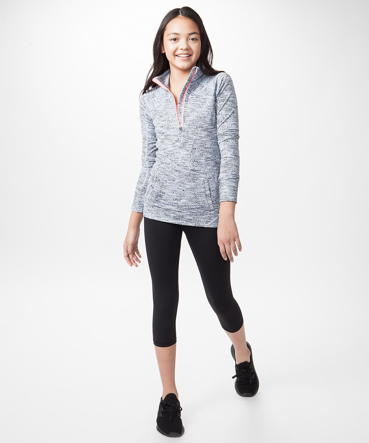<ivivva by lululemon>Speed Seeker Pullover トップス グレー