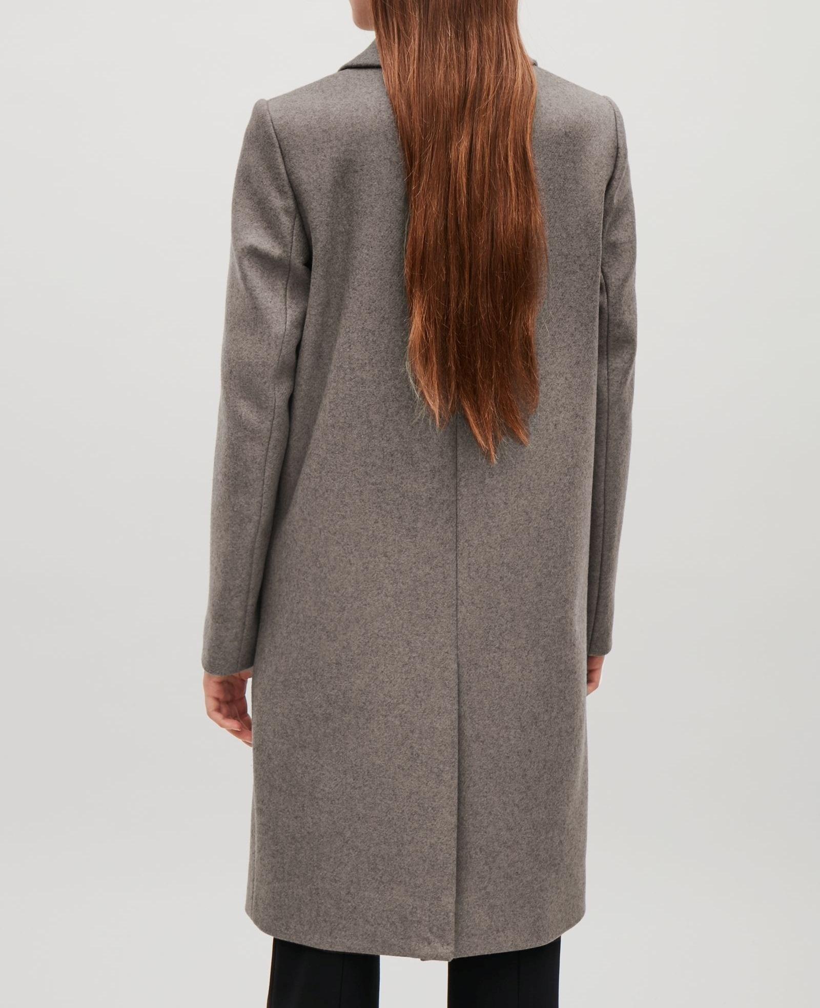 """""""COS""""TAILORED WOOL COAT TAUPE"""