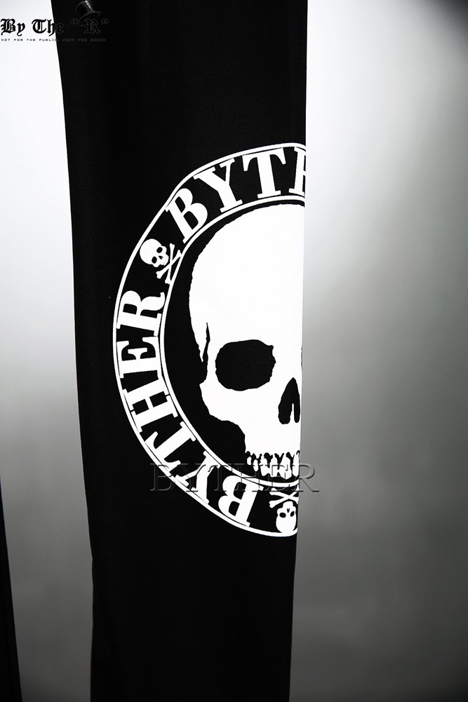 ★韓国の人気★BTHR★ByTheR Skull Logo Printing Leggings★