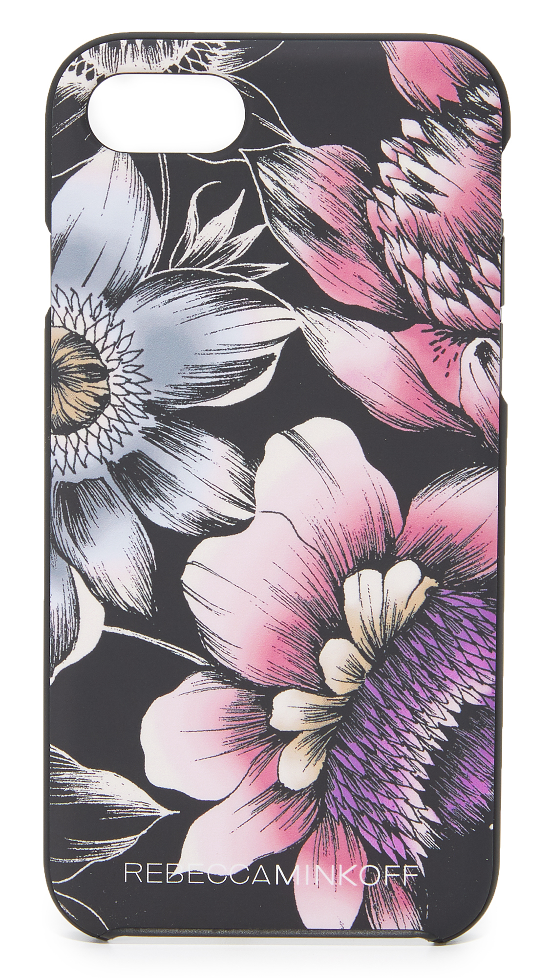 送料・関税込 Soft Touch Finish Pencil Floral iP スマホケース