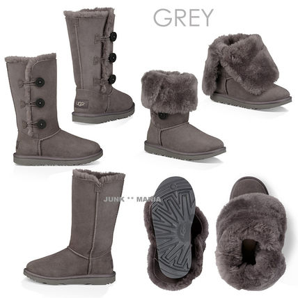 UGG キッズブーツ ★追跡付【UGG】BAILEY BUTTON TRIPLET II(4)
