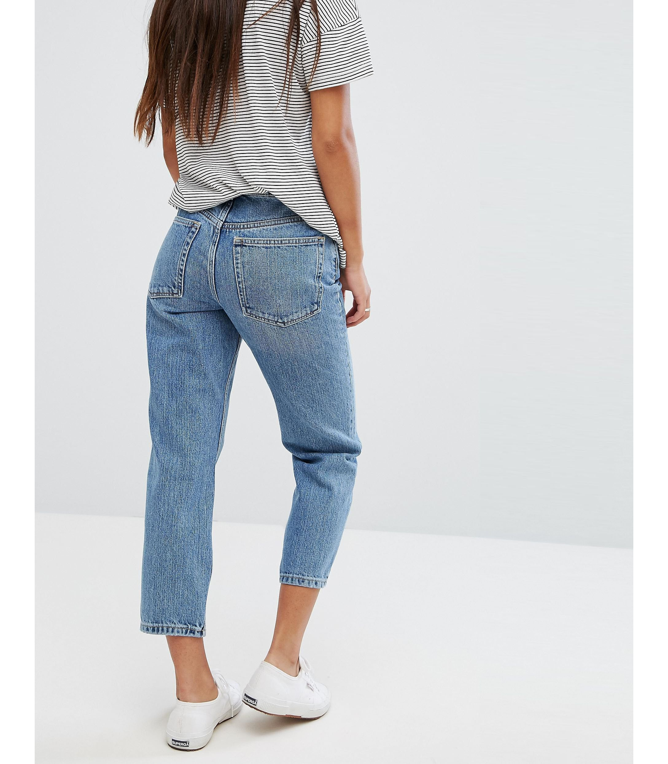 ★ASOS★ PETITE RECYCLED FLORENCE Authentic Straight Leg