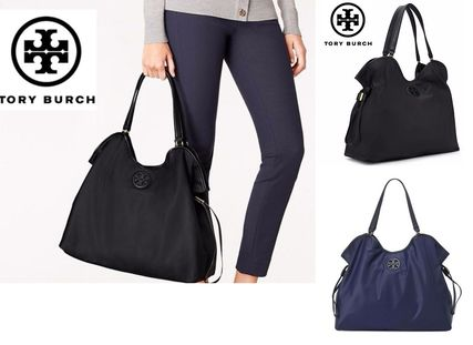 Tory Burch☆NYLON SLOUCHY ナイロン トートバッグ 2色 国内発送