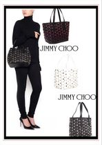 国内発送 VIP sale ★2018SS[Jimmy choo]mini star tote bag
