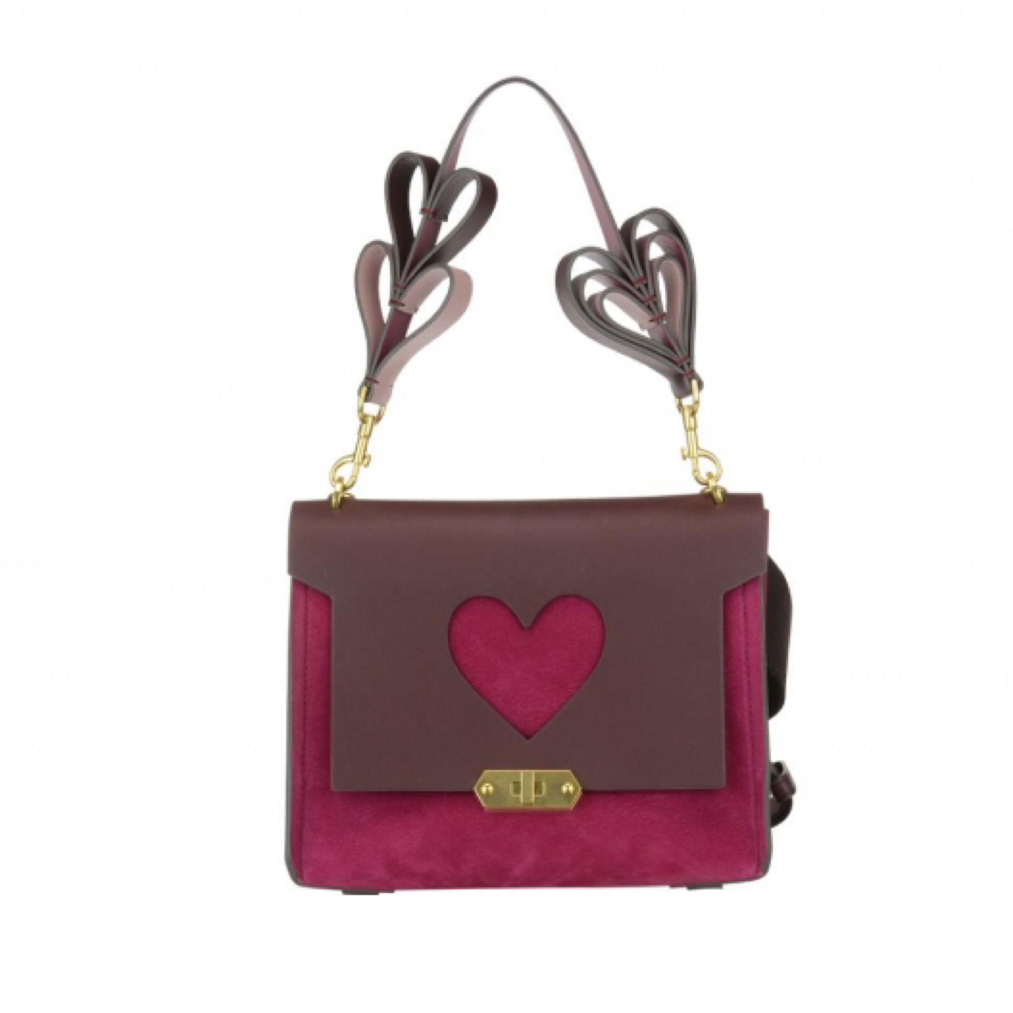 新作【Anya Hindmarch】BATHURST XS HEART ショルダー
