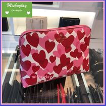 【kate spade】1月発表★可愛いHeart Party♡ 化粧ポーチ★