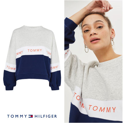 【Tommy Hilfiger】カラーブロック スウェットby Tommy jeans