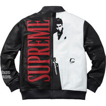18 week FW17(シュプリーム) X Scarface Embroidered Jacket