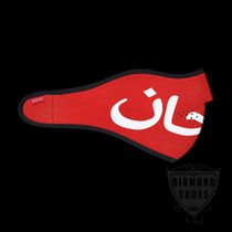 FW7 SUPREME ARABIC LOGO NEOPRENE FACEMASK RED 送料無料