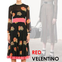 大人ガーリー★RED VALENTINO★Flying Bouquet ドレス