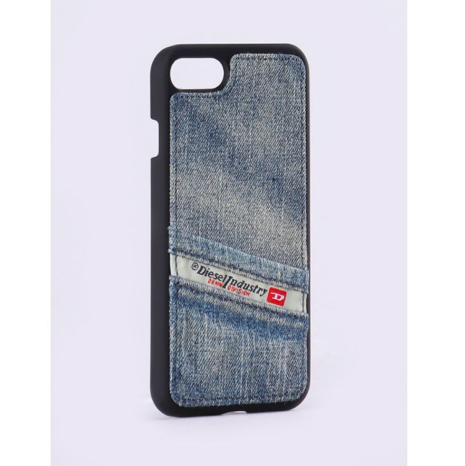 PLUTON IPHONE 7 POCKET SNAP CASE - BLUE JEANS  /  FW2017