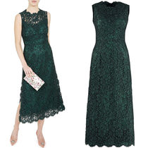 18SS DG1395 FLORAL LACE MIDI DRESS