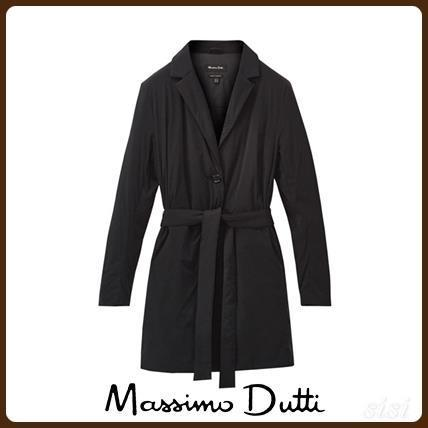 MassimoDutti♪LONG QUILTED JACKET