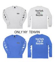 完売必至★ONLY NY★NYC  DSNY Recycles L/S T-Shirt 2色