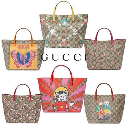GUCCI◆ GGモノグラムプリントトートバッグ◆送料込