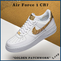 "【Nike】入手困難☆ Air Force 1 CR7 ""GOLDEN PATCHWORK"""