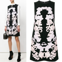 18SS DG1402 FLORAL EMBROIDERED SHIFT DRESS