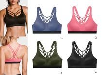 Lightweight by Victoria Sport Strappy Sport スポーツブラ4色
