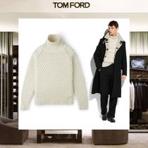 【18SS NEW】 TOM FORD_men /CLASSIC CASHMEREタートルネックWH