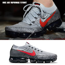 NIKE★AIR VAPORMAX FLYKNIT★グレー グラデーション×レッド