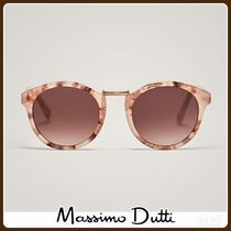 MassimoDutti♪ROUND SUNGLASSES WITH EMBELLISHED DETAIL