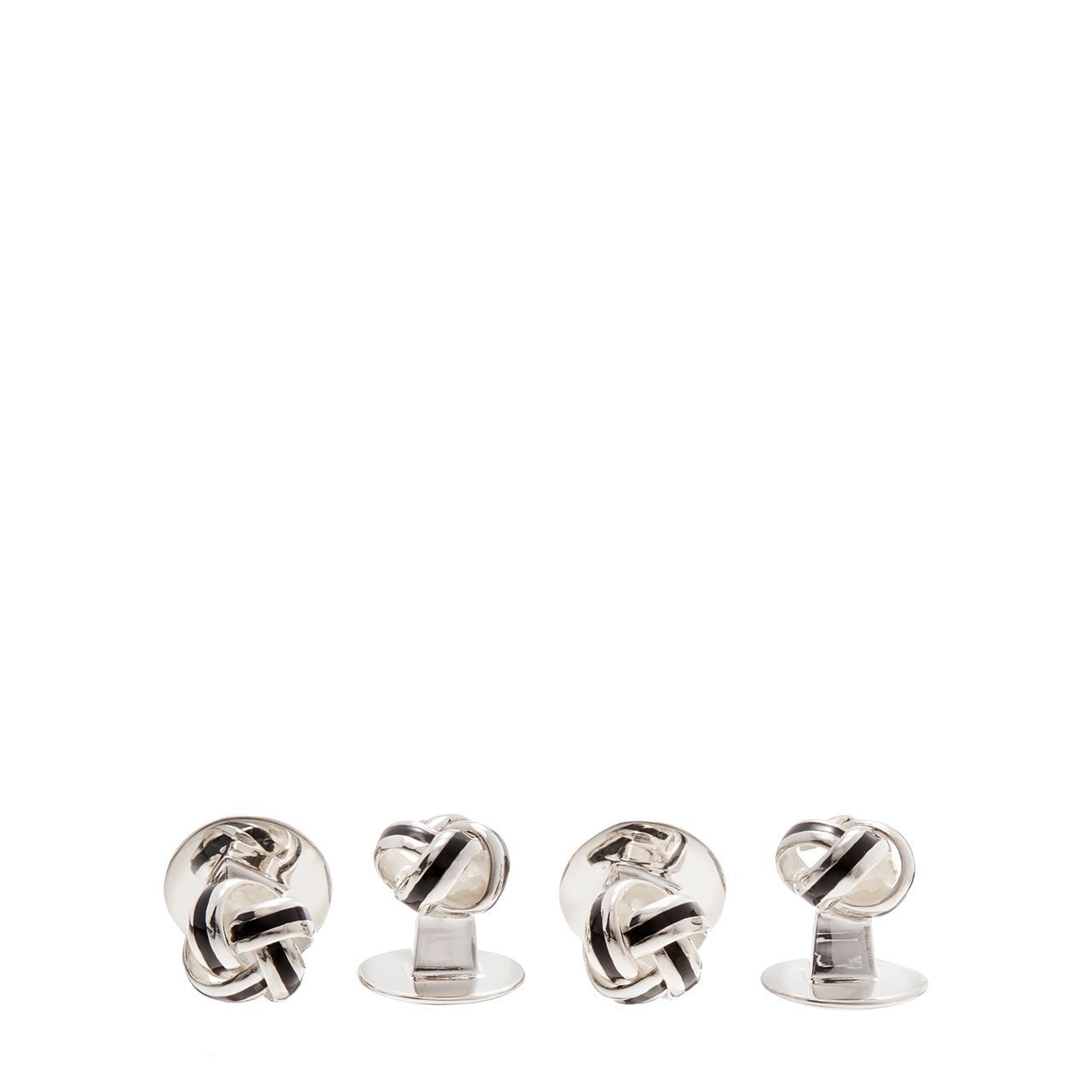 ◎送料込み◎Sterling Knot Cuff Links