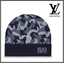 ★LOUIS VUITTON 《BONNET MILITAIRE》ウール キャップ