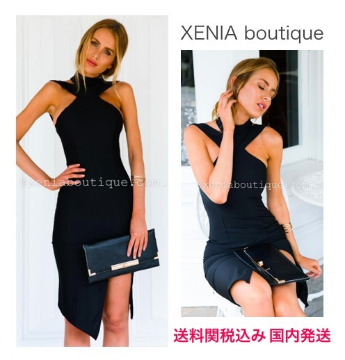 【関送込】☆XENIA boutique☆PASSION BLACKドレス