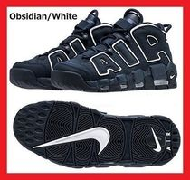 ユニセックス 国内発送 Nike Air More Uptempo Obsidian white