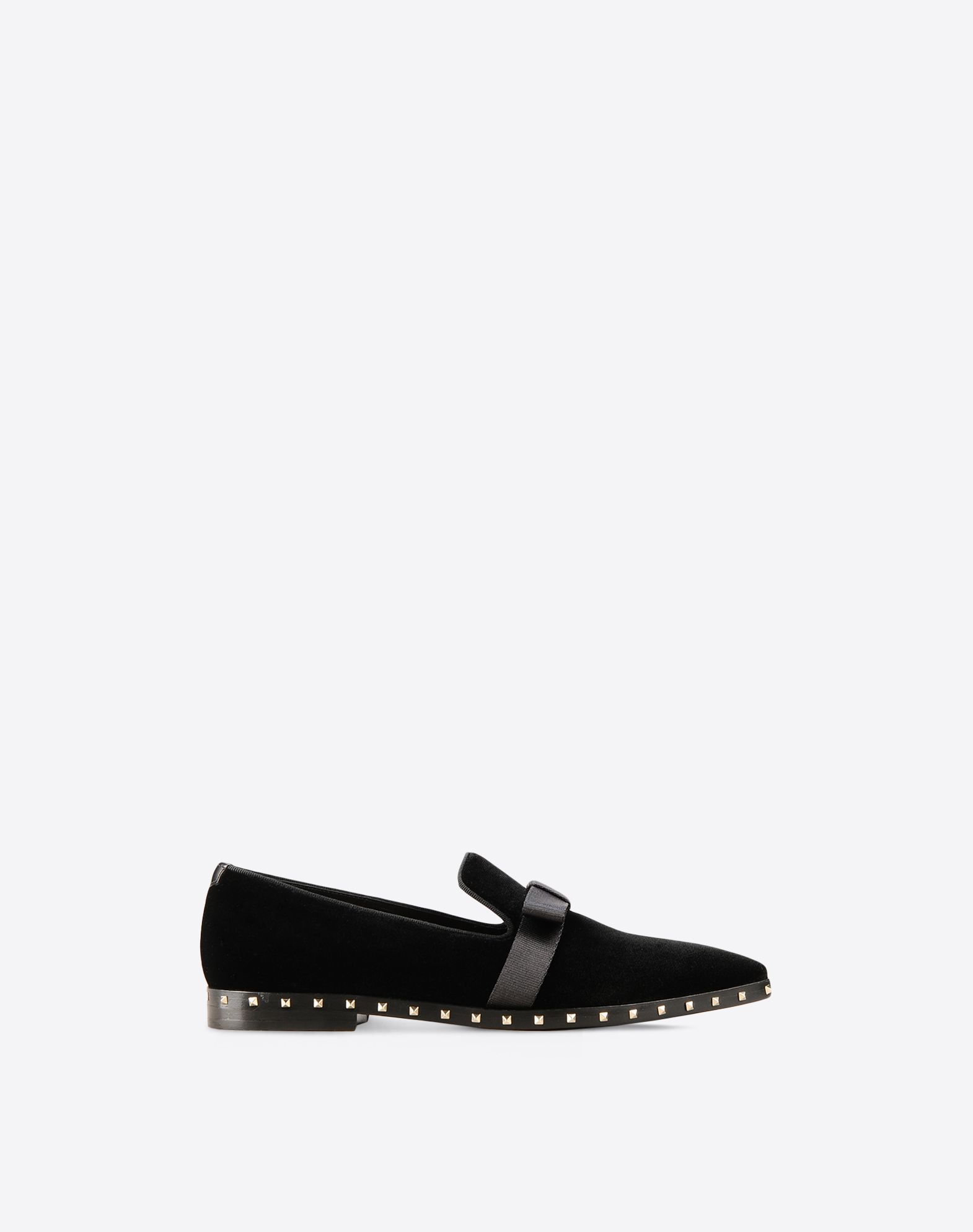 【17AW NEW】VALENTINO_women /SOUL ROCKSTUD SLIPPER/Black