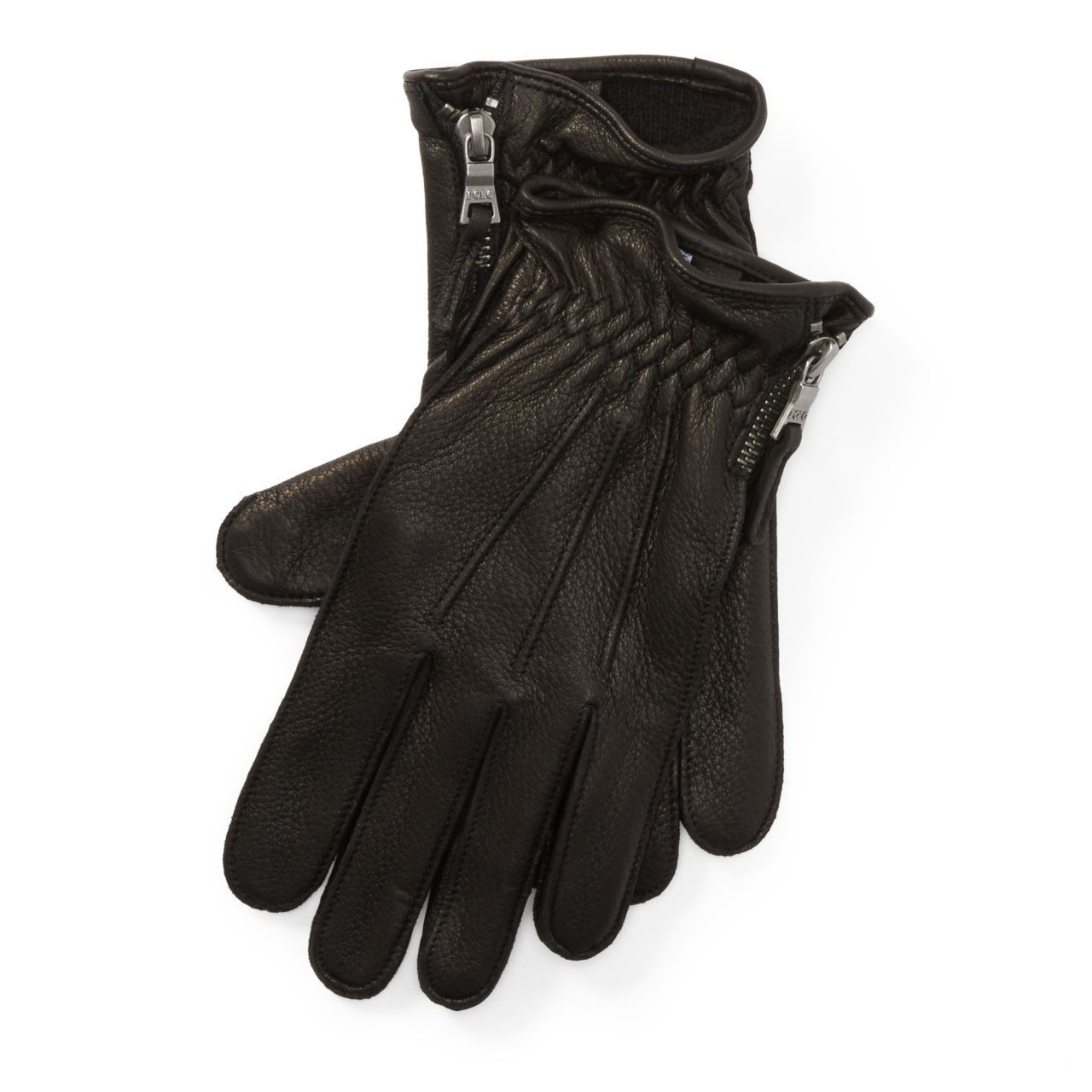 ◎送料込み◎Side-Zip Deerskin Gloves
